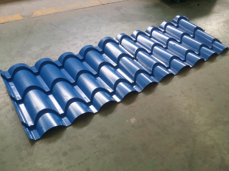 Zhongtuo hydraulic work type glazed step tile making machine