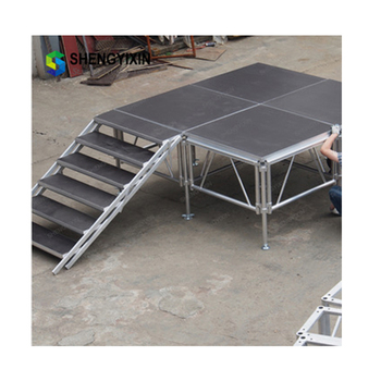 Chinese manufacturer stong durable Intellistage for sale/outdoor for wedding stage decoration