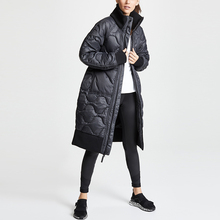 Custom women warm <span class=keywords><strong>겨울</strong></span> <span class=keywords><strong>코트</strong></span> 긴 warm 트렌치 coat padding down feather jacket 외투