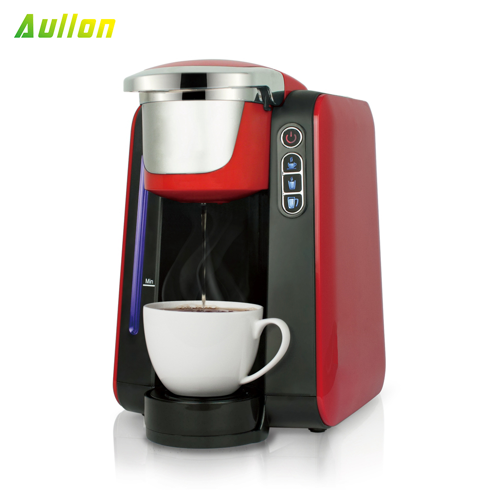 Best Home Cheap Aluminum Cup Black Coffee Maker Machine