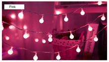 Украшение для сада, светодиодные фонари, круглый шар, форма, гирлянда из ротанга, лампы, огни феи, светодиодные гирлянды для дома, новый год, Р...(Китай)