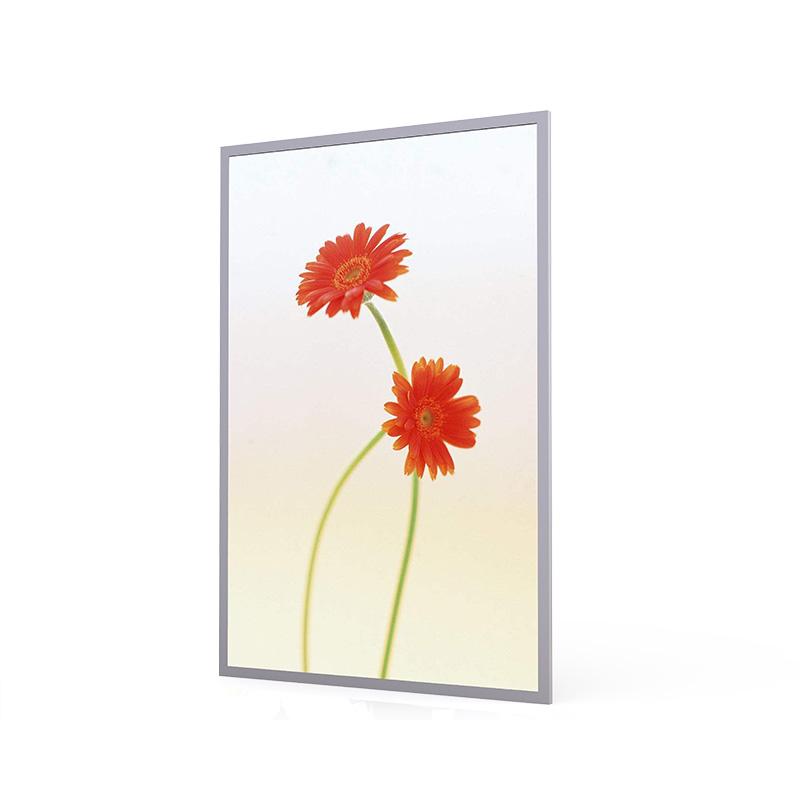 LED backlight frame  CE ROHS clip aluminum picture frame led light box