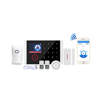 A professional design smart home security gsm alarm system wireless