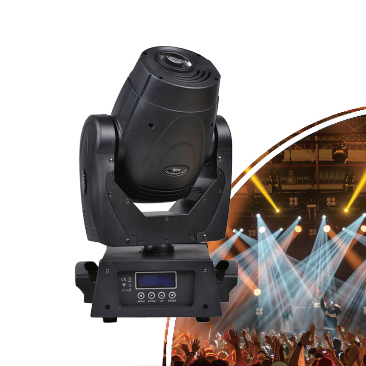 AOMEIDI Private Model 3 Facet Prisms LED 90W Spot Gobo Moving Head Stage Lights for Bar KTV Club Banquet