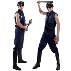 2020 cheap gay men costumes man police costume with high quality sex police uniform