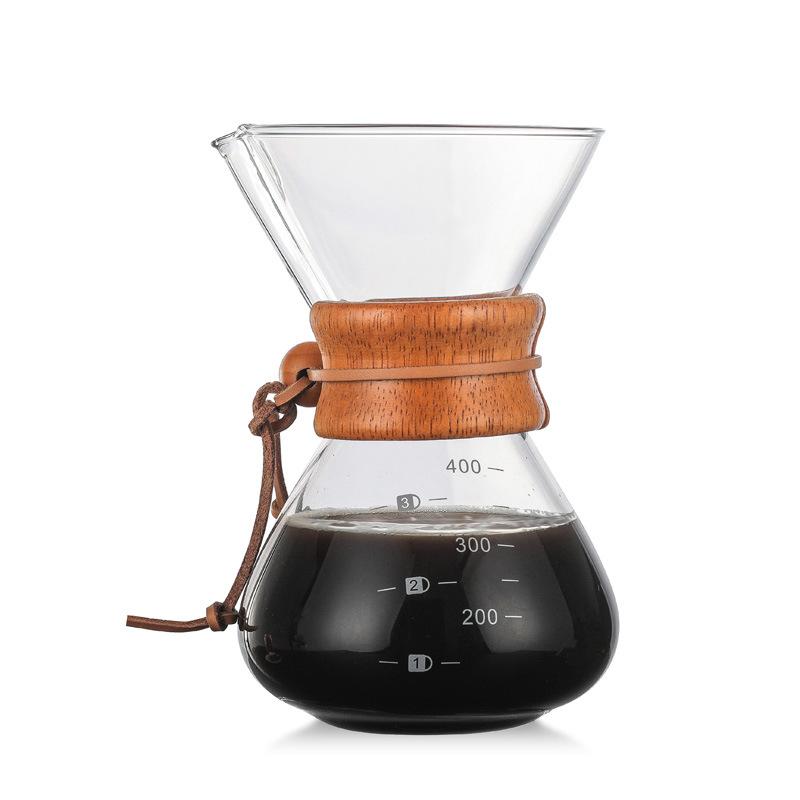 Pour над кофеварка с боросиликатного стекла руководство кофе капельница пивовар BJStore(Китай)