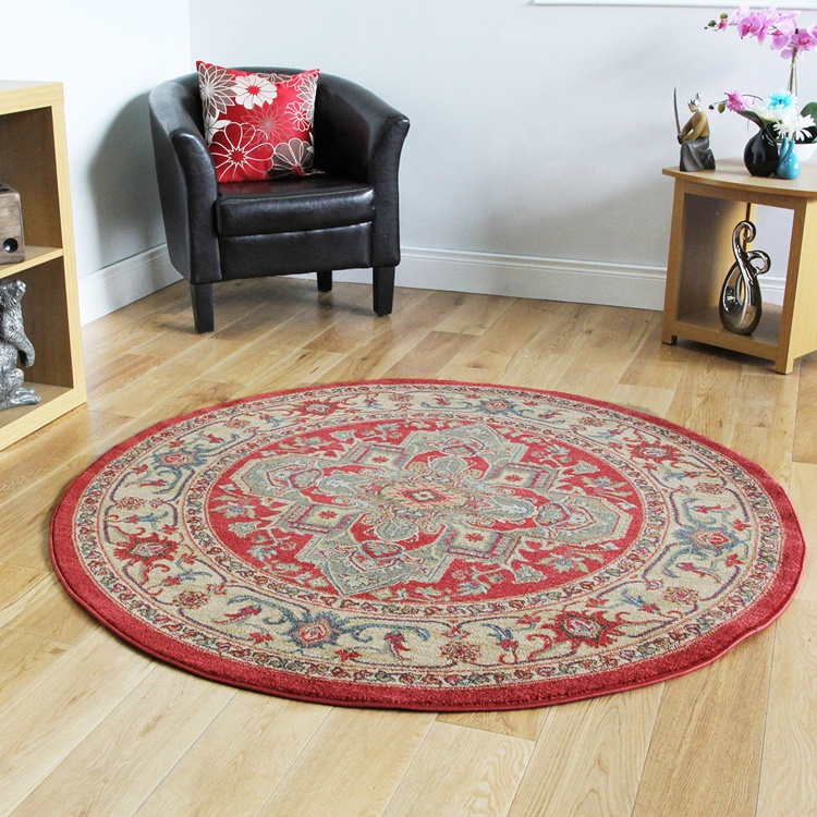 Venta al por mayor alfombras redondas baratas-Compre ...