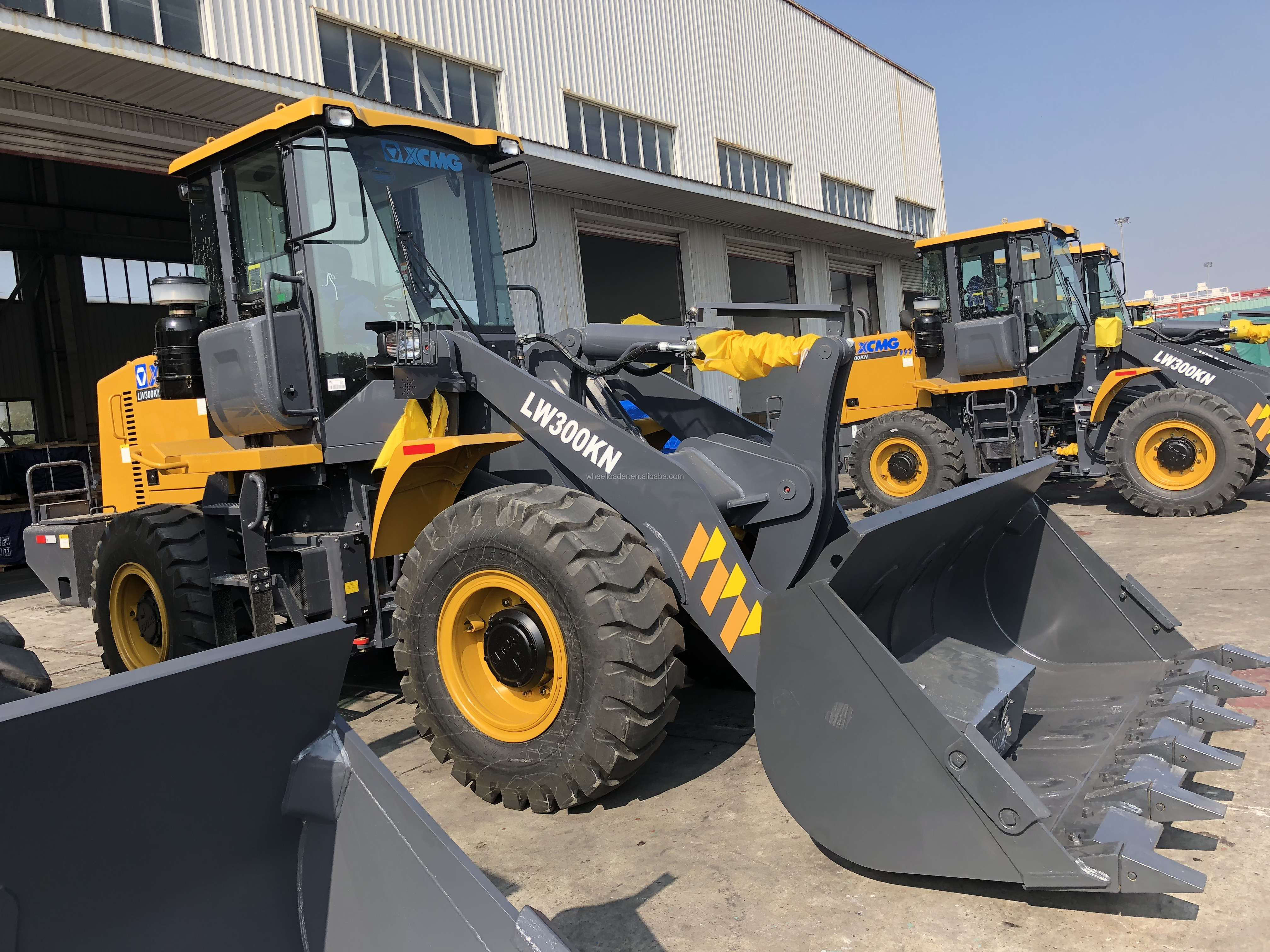 Oriemac XCMG Official Manufacturer 3 ton LW300FN/LW300KN Mini Wheel Loader with 1.8 CBM Bucket