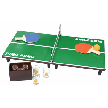 Portable Tennis Table Ensembles Avec Filet Rétractable Pour Le Divertissement