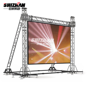 exhibition show event backdrop decorative truss system