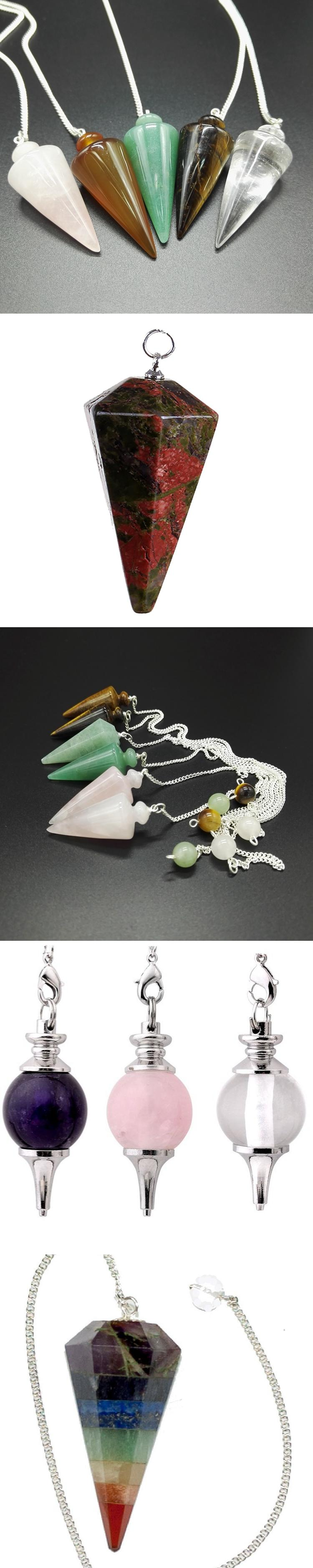 Wedding gifts for guests souvenirs gemstones chakra energy crystal pendulum
