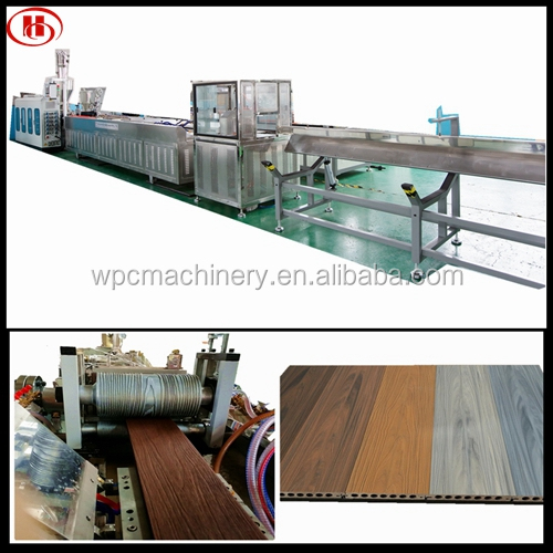 Wpc Decking Machine For Making Wpc Products Wood Plastic