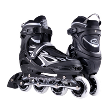 Stitching adjustable flashing roller inline skate for kids adults