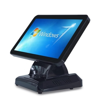 Newest design fashion shape wild screen touch POS system terminal