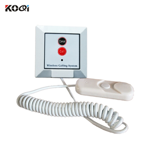 10 pcs wireless hospital nurse calling system small remote call button K-W2-H