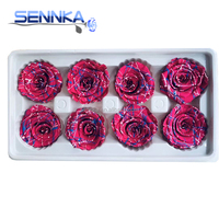 Wedding Stage Decoration Preserved Stabilized Flowers Rose Eternal
