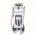 Double handles ipl remove hair rf elight laser tattoo removal machine