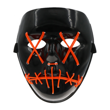 Scary EL Draht Linie Leuchten Bis <span class=keywords><strong>Maske</strong></span> mit 3V DIY LED Blinkt für DJ <span class=keywords><strong>Halloween</strong></span> <span class=keywords><strong>Party</strong></span>