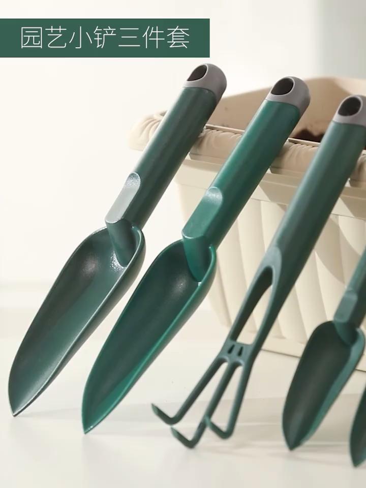 คุณภาพสูงใหม่สวนมือชุดเครื่องมือชุดเด็กสวนเครื่องมือไม้เหล็กเครื่องมือ