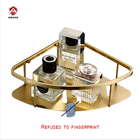 Nickel [ Caddy ] Bathroom Shelf Organizer Hot Sales 304 Stainless Steel Shower Shelf Brush Gold Triangle Bathroom Shower Caddy Basket Storage Organizer