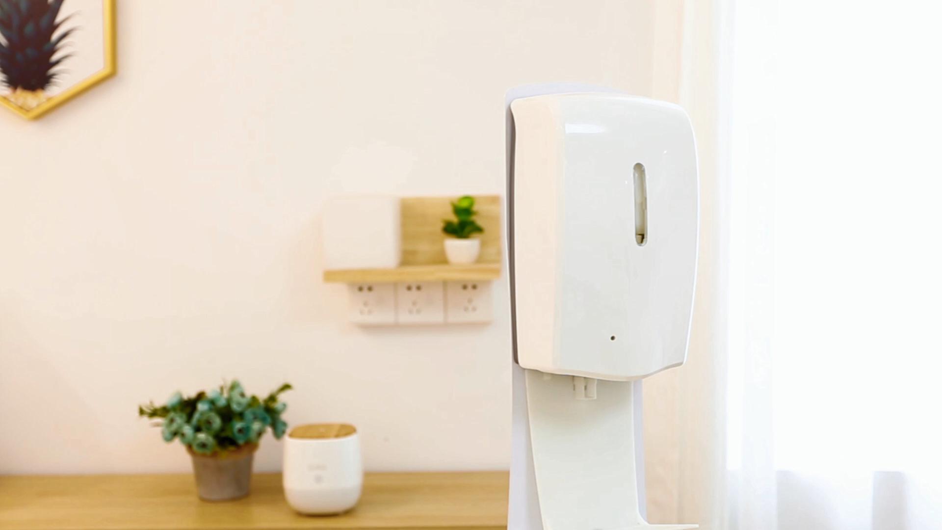 SCENTA venta eléctrica de plástico Sensor sin contacto de dispensador de jabón montado en la pared gratuito dispensador automático desinfectante para mano