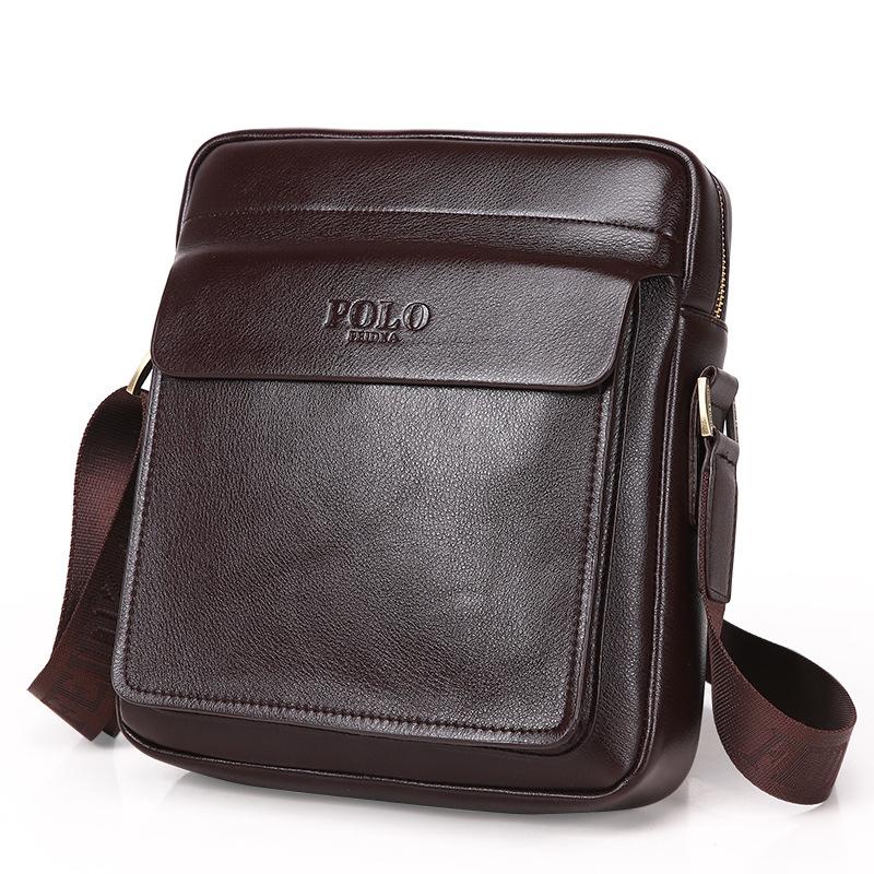 Venta al por mayor bolsos de cuero moderno hombre Compre