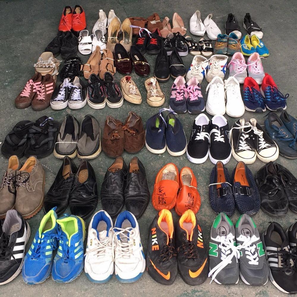 Mixto jinjiang de alta calidad Zapatos de segunda mano de zapatos