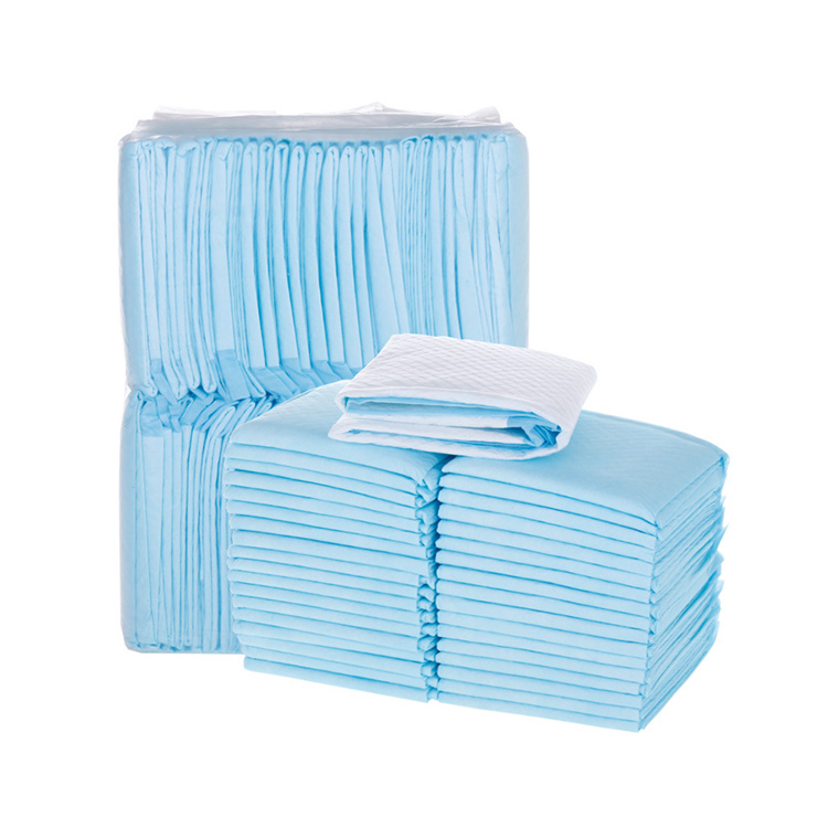Wholesale Disposable Incontinence Nursing Maternity Disposable Blue Underpad 23 X 36