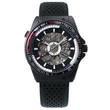 Мужские наручные часы WINNER Top Brand, модные спортивные часы с механическим циферблатом, резиновым ремешком, 2019(Китай)