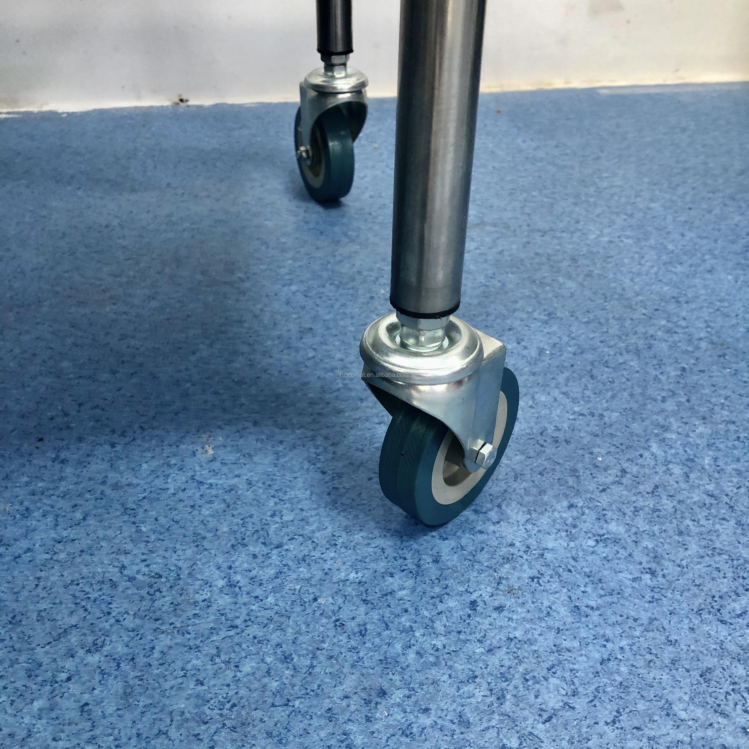 Больничная мебель Металическая цепочка из нержавеющей стали с медицинская тележка BC0918-14