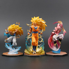 Majin Buu Goku Gotenks Pvc Actiefiguren Tamashii Naties Beeldje Super Saiyan Collection Model <span class=keywords><strong>Dragon</strong></span> <span class=keywords><strong>Ball</strong></span> Z Speelgoed