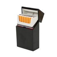 Hot selling product plastic cigarette case custom color lighter case for man