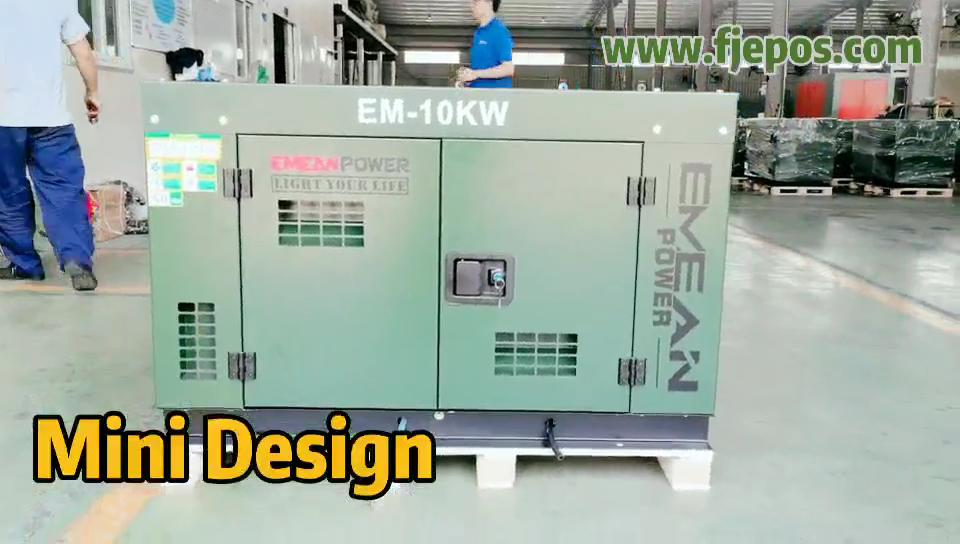 small super silent 10kw 10 kva generator price Weifang /Ricardo diesel generator set with50/60Hz
