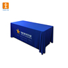 Promotional new products custom printed tablecloths exhibit 6ft trade show table cloth