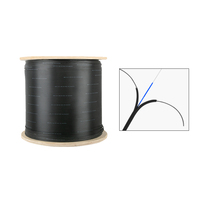 fiber drop cable outdoor 1 2 4 core g652 g652d g657a g657a2 ftth single mode fibra optica wire sc g657 lszh drop cable