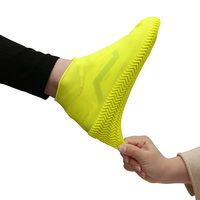Hot sale slip-resistant snow rain silicone waterproof shoe covers