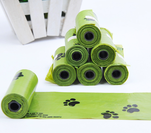 Vanilla Green Biodegradable Poop Bags, Earth-Friendly Leak-Proof Thick and Strong Pet Waste Poop Bags for Dogs