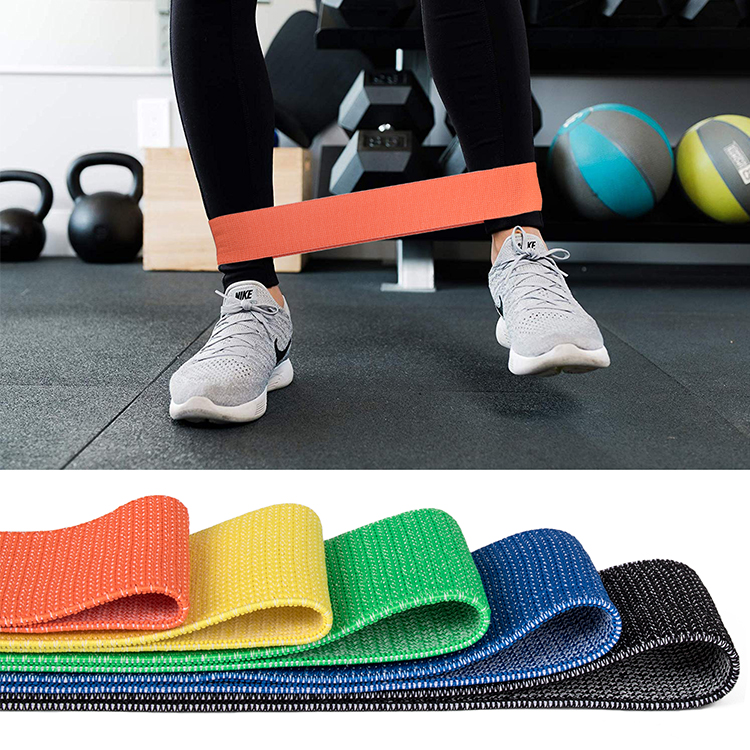 Fitness Running Polyester Fabrics Resistance Band Pull Up Assist Band Set