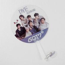 Прозрачный вентилятор Kpop TXT SuperM GOT7 ITZY GD Lee MinHo Stray Kids Lu Han Wang Yibo Xiao Zhan, подарок для фанатов из ПВХ(Китай)