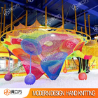 Rope Cube rainbow rope nets playground children climbing rope net indoor trampoline park indoor baby play park