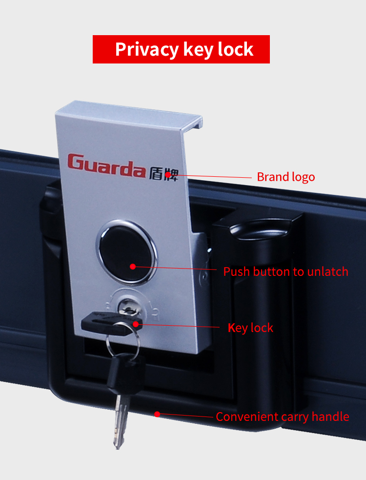 Guarda Wholesale fire waterproof safe factory for money-5