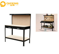 High quality woodworking table steel frame multifunction industry Workbench for tools