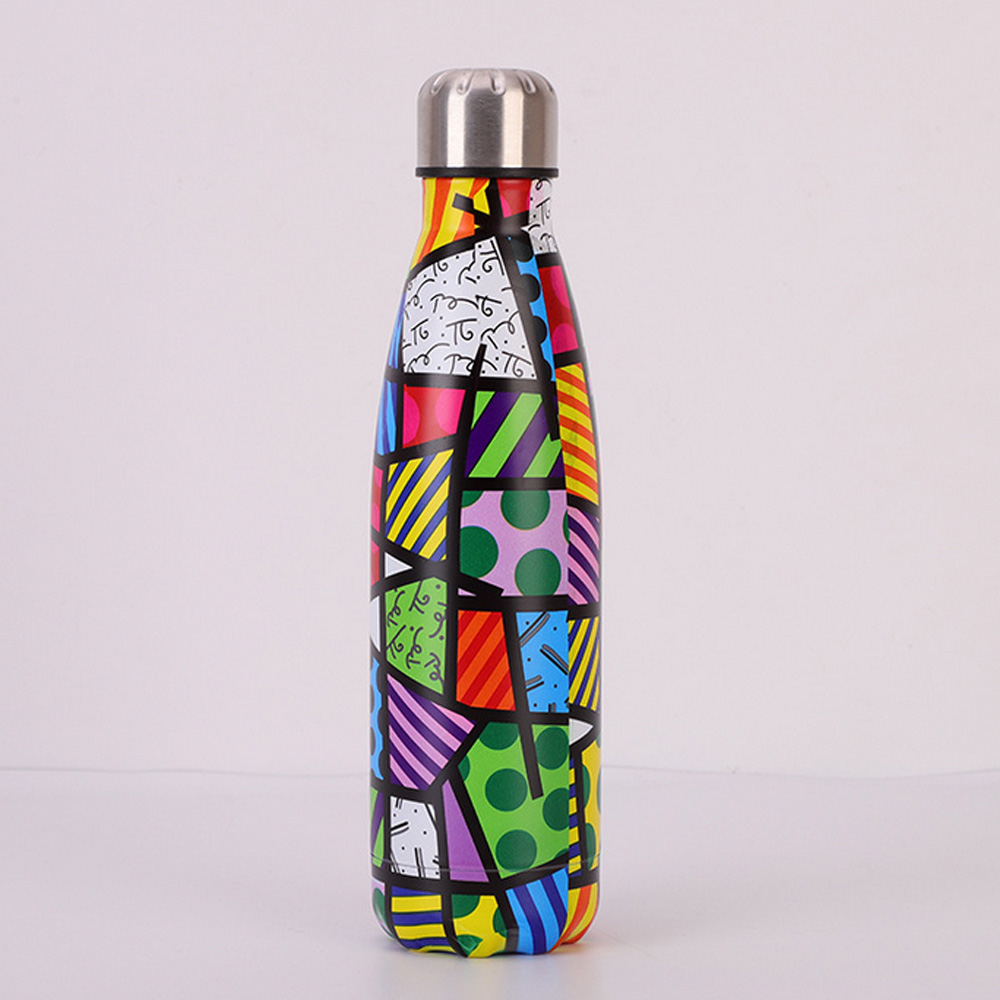 Double Wall Vacuum Insulated Gym drinking bottle stainless steel water bottle with Custom Logo