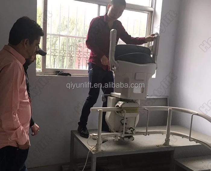 Hot Sale Cheap Residential Hydraulic Chair Stair Patient Wheelchair Elevator Lift