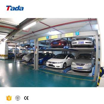 PSH two level puzzle mechanical car parking system and vehicle storage parking lot solution