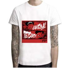 Мужская футболка с принтом Akira Synthwave, Летняя Повседневная белая футболка с японским аниме, удобная футболка(Китай)