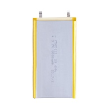 <span class=keywords><strong>Hohe</strong></span> <span class=keywords><strong>Kapazität</strong></span> Lithium-Polymer-Ion Batterie Zellen Pack 7565121 8000mah Lipo Batterie 3,7 v für power bank