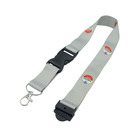 Cool Polyester Lanyards Roll Free Sample With Logo Custom