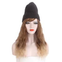 STfantasy High quality Winter Hat wig with Synthetic Hair Extension