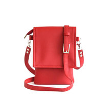 Fashion mini lady handbag Pu leather crossbody Mobile Phone Case bag square women shoulder bag